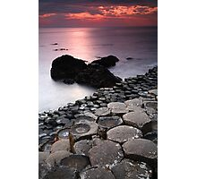 Giant's Sunset Photographic Print