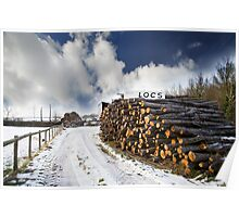 Logs for Sale Poster
