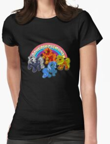 Apocalypse pony Womens Fitted T-Shirt