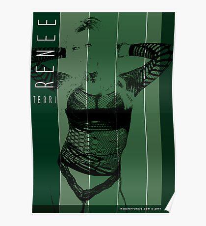 Model - Terri Renee Poster
