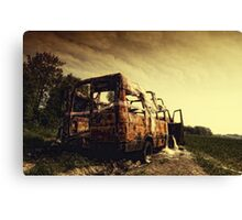 Off Road ii Canvas Print