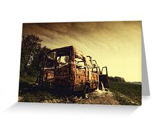 Off Road ii Greeting Card