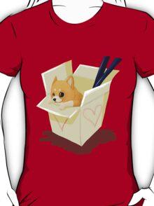 Take-out Puppy T-Shirt