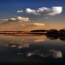 Nohavicka Pond at Dusk by Stevacek