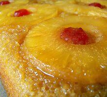 Pineapple Upside down Cake... Yum! by Marcia Rubin