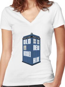 Something Old, New, Borrowed, Blue Women's Fitted V-Neck T-Shirt