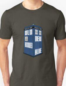 Something Old, New, Borrowed, Blue Unisex T-Shirt