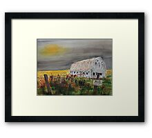 Happier Days are Coming Framed Print