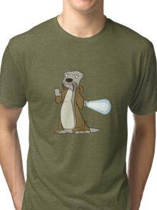 Otter-Wan Kenobi Tri-blend T-Shirt