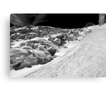 Skiing on the Giant's Cascade Canvas Print