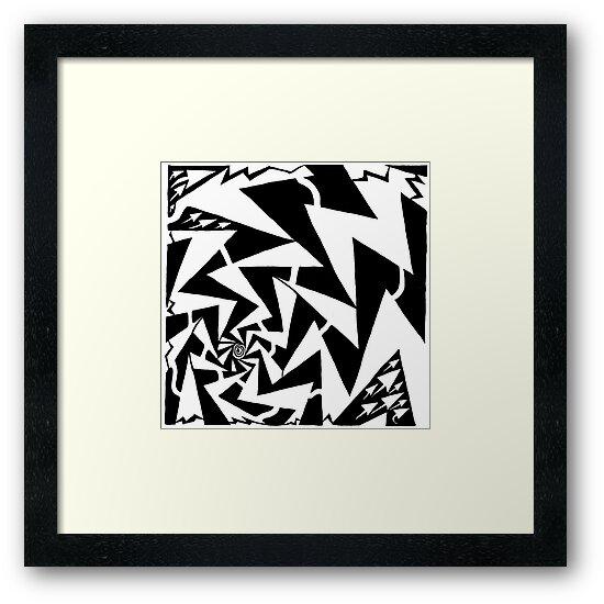 Electric Swirl Maze by Yonatan Frimer