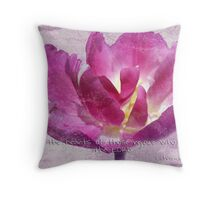 Let the hearts rejoice! Throw Pillow