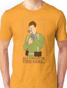 "Indiana Jones - ""All I Want is the Girl"" Unisex T-Shirt"