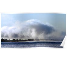 Where Clouds and Water Meet - Ottawa River Poster