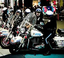 NYPD Motorcycle Police by jscherr
