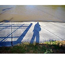 My Shadow Photographic Print