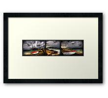 Little Boat Series Framed Print