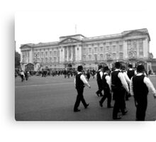 On the Royal Beat  Canvas Print