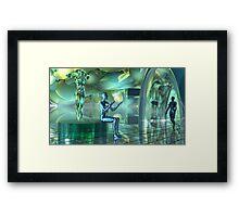 Altered Robotic Meditative States2 Framed Print