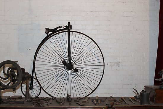 penny farthing  by yampy