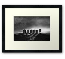 The Tin Men Framed Print