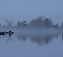 Foggy Morning by Eileen McVey