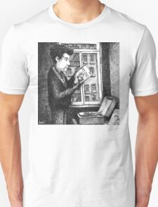 Bob Dylan discovering Robert Johnson T-Shirt