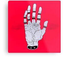THE HAND OF ANOTHER DESTYNY Metal Print
