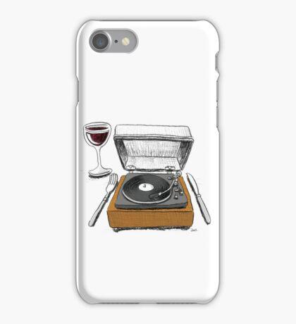 Dinner Music iPhone Case/Skin