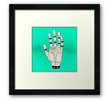 THE HAND OF DESTINY / LA MANO DEL DESTINO Framed Print