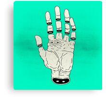 THE HAND OF DESTINY / LA MANO DEL DESTINO Canvas Print