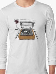 Dinner Music Long Sleeve T-Shirt