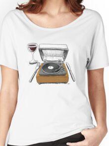 Dinner Music Women's Relaxed Fit T-Shirt