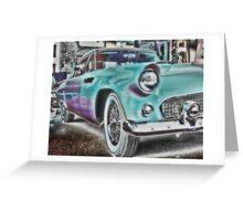 1956 Thunderbird Greeting Card