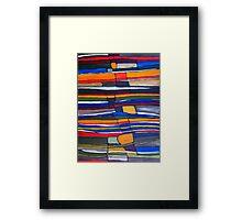 Stratigraphic Improvement Framed Print
