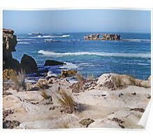 Coastline near Robe, South Australia Poster