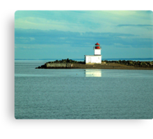 Parrsboro Lighthouse Canvas Print