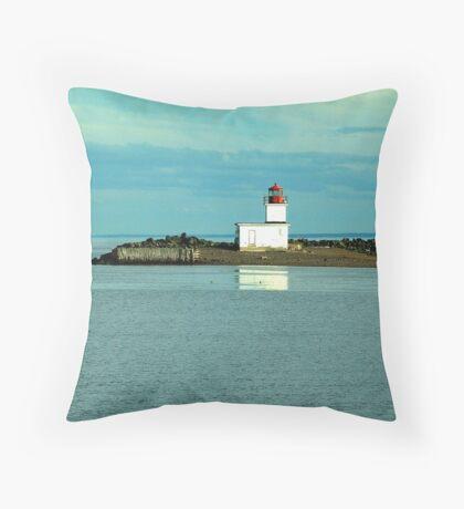 Parrsboro Lighthouse Throw Pillow