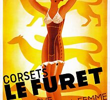 Vintage Fashion, French corset company, Art Deco by Glimmersmith