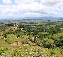 Swazi scenery by habraham