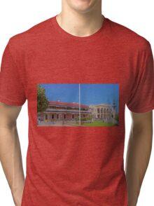 Jens Town Hall Hotel, Mount Gambier, South Australia Tri-blend T-Shirt