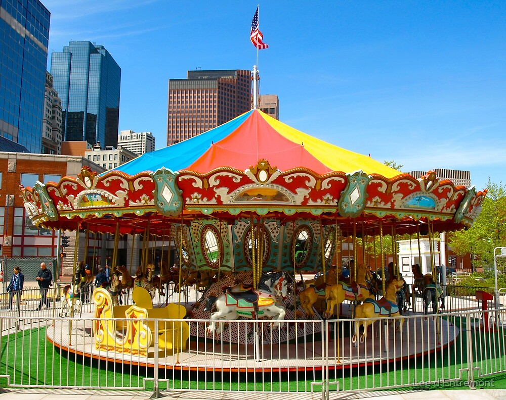 Childs Play - Carrousel by Lee d'Entremont