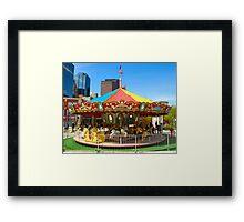 Childs Play - Carrousel Framed Print