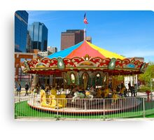 Childs Play - Carrousel Canvas Print