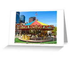 Childs Play - Carrousel Greeting Card