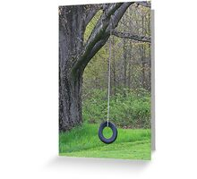 The Swing Greeting Card