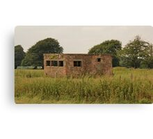 Early Fighter Watch Office At RAF Culmhead Canvas Print