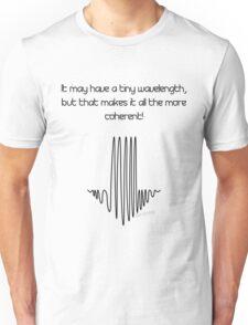 Quantum Mechanics Dick Joke Unisex T-Shirt