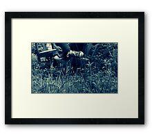 The Last Stride Framed Print
