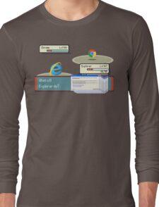 Browser Battle Long Sleeve T-Shirt